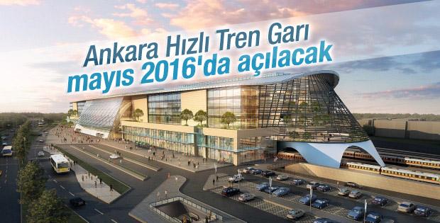 Ankara YHT Garı'nın yüzde 80'i tamamlandı