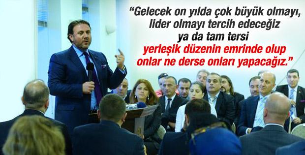Yiğit Bulut: Büyük bir Türkiye istiyorsan oyunu kullan