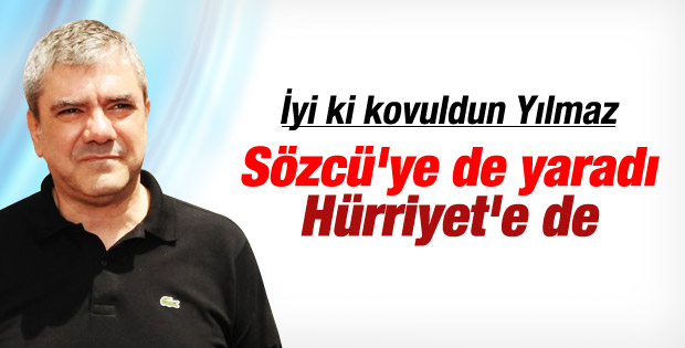 Yılmaz Özdil Sözcü'ye de yaradı Hürriyet'e de