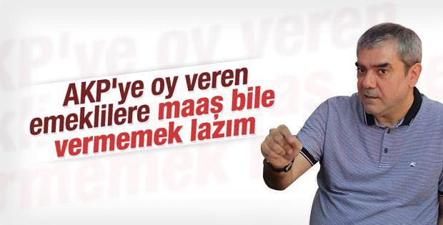 Yılmaz Özdil AK Parti'ye oy veren emeklileri eleştirdi