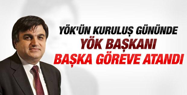 YÖK Başkanı Gökhan Çetinsaya'nın görevi değişti