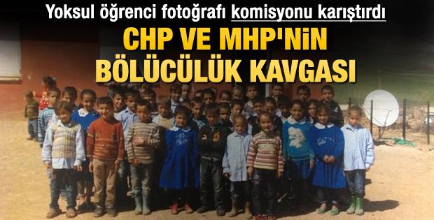 Yoksul öğrenci fotoğrafına bölücülük tepkisi