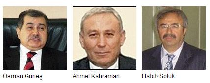 Üç bakan istifa etti