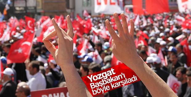 Başbakan Yıldırım Yozgat'ta