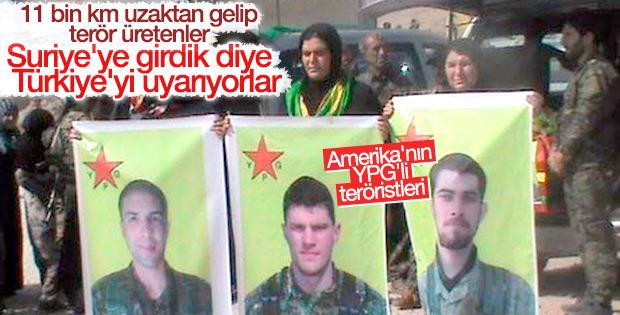 YPG'ye katılan 3 Amerikalı Menbiç'te öldü