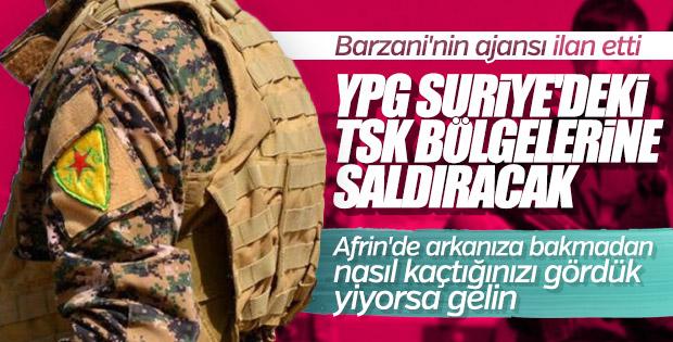 Terör örgütü PKK Afrin'e saldırma niyetinde