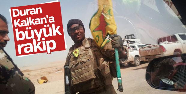 YPG'li siyahi terörist