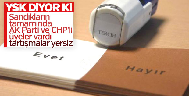 YSK Başkanı Güven'den referandum açıklaması