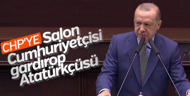 Erdoğan'dan CHP'lilere Atatürk eleştirisi