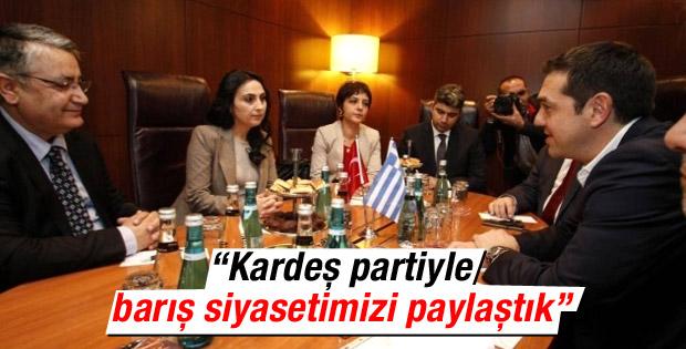 HDP'li Yüksekdağ: Kardeş Çipras ile barışı görüştük