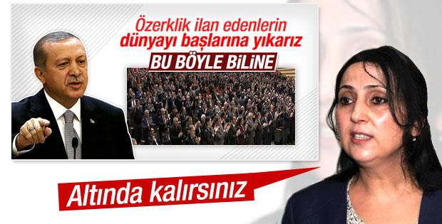 Yüksekdağ'dan Cumhurbaşkanı Erdoğan'a özerklik yanıtı