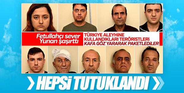 Yunanistan'da 9 terör şüphelisi hakkında karar çıktı