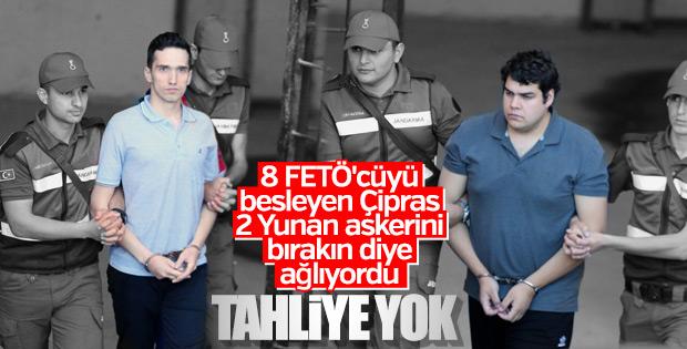 Türkiye'de tutuklu 2 Yunan askerinin son durumu