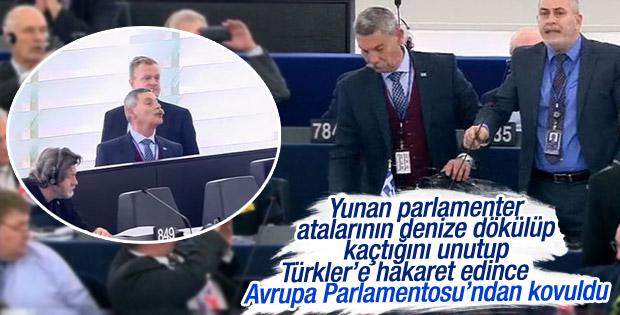 Irkçı Yunan vekil Avrupa Parlamentosu'ndan kovuldu