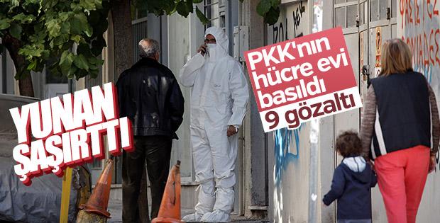 Yunanistan'da PKK operasyonu