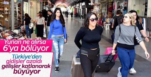 Yunanistan'a giden Türk turist sayısı azaldı