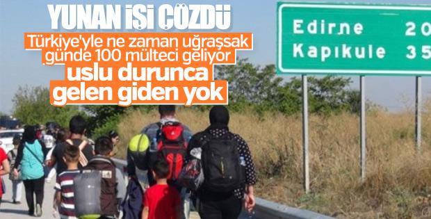 Yunanistan, Türkiye'den gelen mültecilerden şikayetçi
