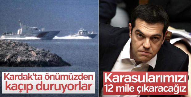 Çipras: Türkiye Akdeniz'de karar vermeli
