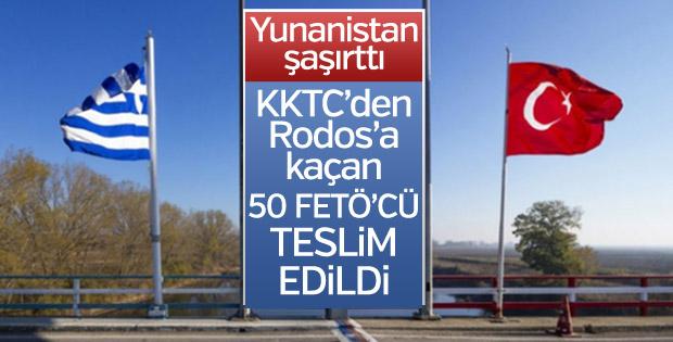 Yunanistan 50 FETÖ'cüyü teslim etti