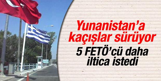 7 Türk vatandaşı Yunanistan'a kaçtı