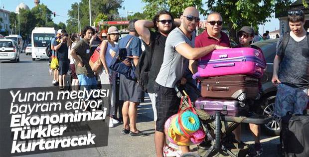 Yunanistan'ın Türk turist sevinci