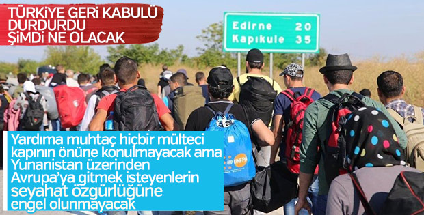 Yunanistan üzerinden Avrupa'ya gidişlere izin verilecek