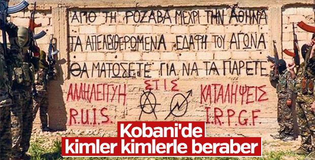 PKK'ya katılan Yunan anarşistler