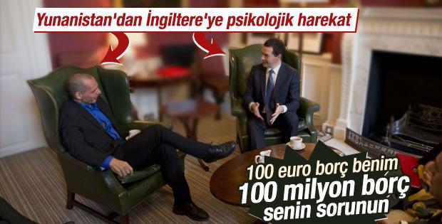 Yunanistan Maliye Bakanı'ndan Londra ziyareti