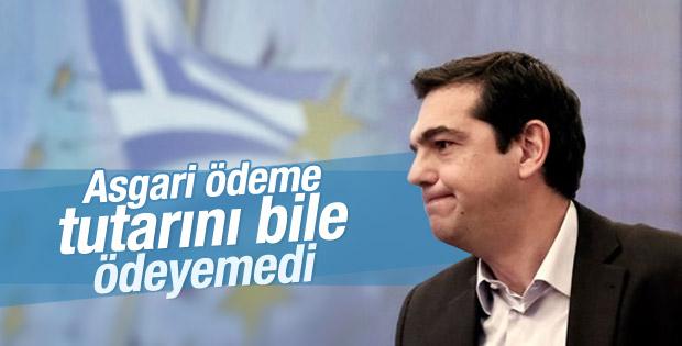 Yunanistan IMF'ye ödeme yapamayacağını açıkladı