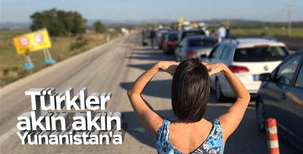 İpsala Sınır Kapısı'nda 'Türk tatilci' yoğunluğu
