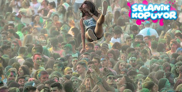 Selanik'te festival coşkusu