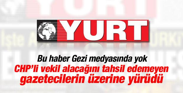 Yurt gazetesi sahibi Özbolat gazetecilere küfür etti