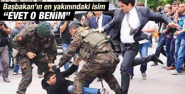 Başbakanlık müşavirinden protestocuya tekme açıklaması İZLE
