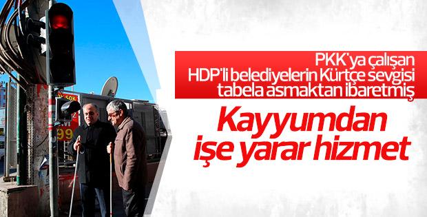 Diyarbakır'da kayyum engellilerin isteğini yerine getirdi