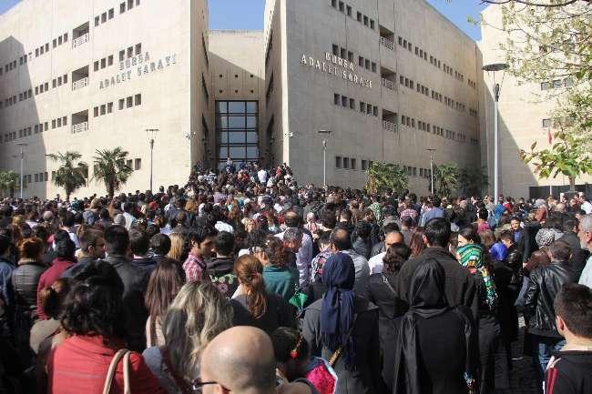 40 kişilik zabıt katipliği kadrosuna bin 715 kişiden müracaat