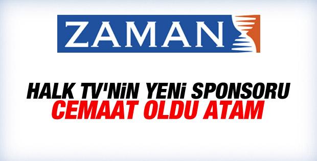 Zaman gazetesi Halk TV'ye reklam verdi
