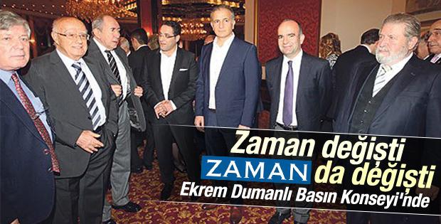 Zaman Basın Konseyi'nin 27. yaşını kutladı