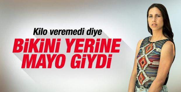 Zehra Çilingiroğlu tatilde
