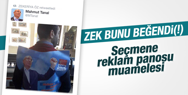 Zekeriya Öz'den Mahmut Tanal'a destek