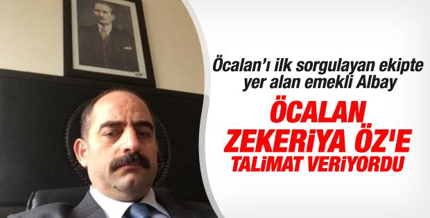 Öcalan ile Zekeriya Öz'ün yazışmaları