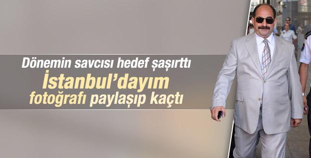 Gürcistan'a kaçan Zekeriya Öz'den İstanbul paylaşımı