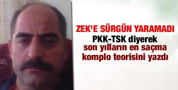 Zekeriya Öz'den tepki çeken PKK tweeti
