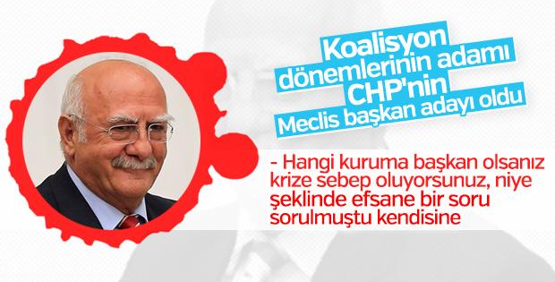 CHP'nin Meclis Başkan adayı