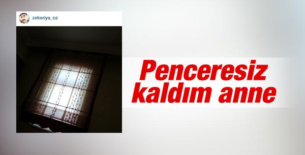 Zekeriya Öz'den pencere fotoğrafı