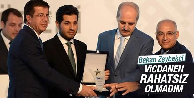 Nihat Zeybekci Reza Zarrab'a verilen ödülü yorumladı