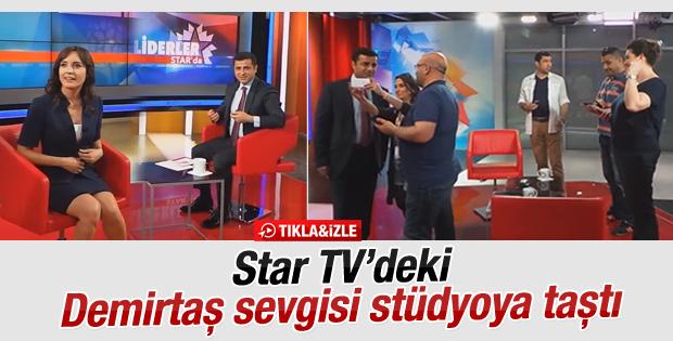 Star TV'deki Demirtaş sevgisi