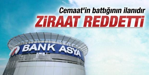 Ziraat Bankası Bank Asya'yı satın almayacak