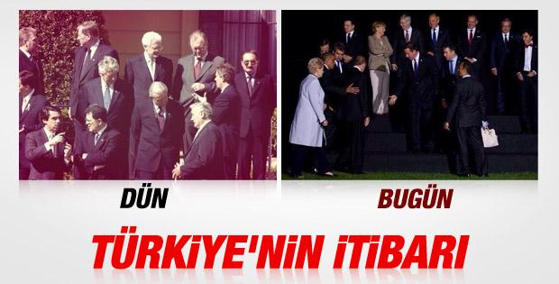 Erdoğan'ın katıldığı NATO zirvesine damga vuran kare