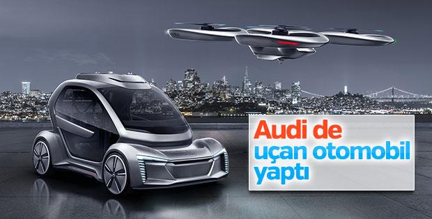 Audi uçan otomobilini tanıttı