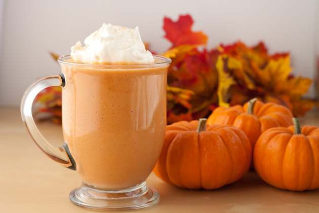 Pumpkin Spice Smoothie 1